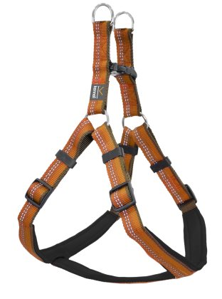 Dog Harness Step in Active orange