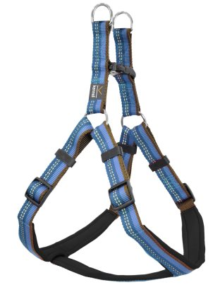 Dog Harness Step in Active blå