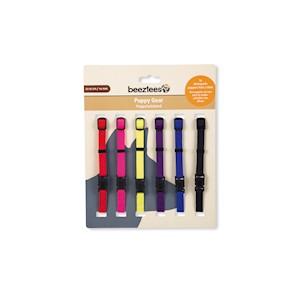 Halsband Valp Mixade färger 6-pack