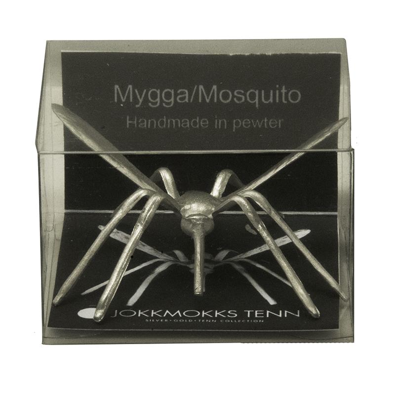 Mygga i asklåg