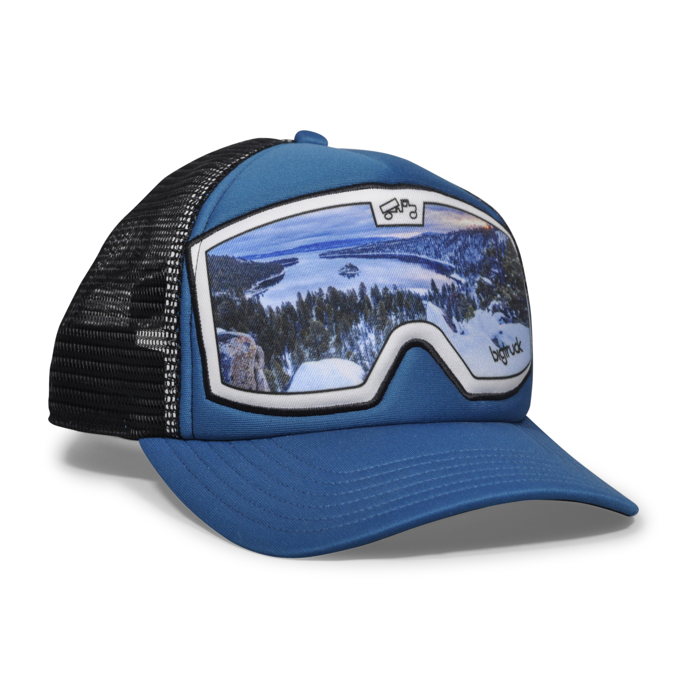Original Graphic Goggle Blue Emerald Bay Front