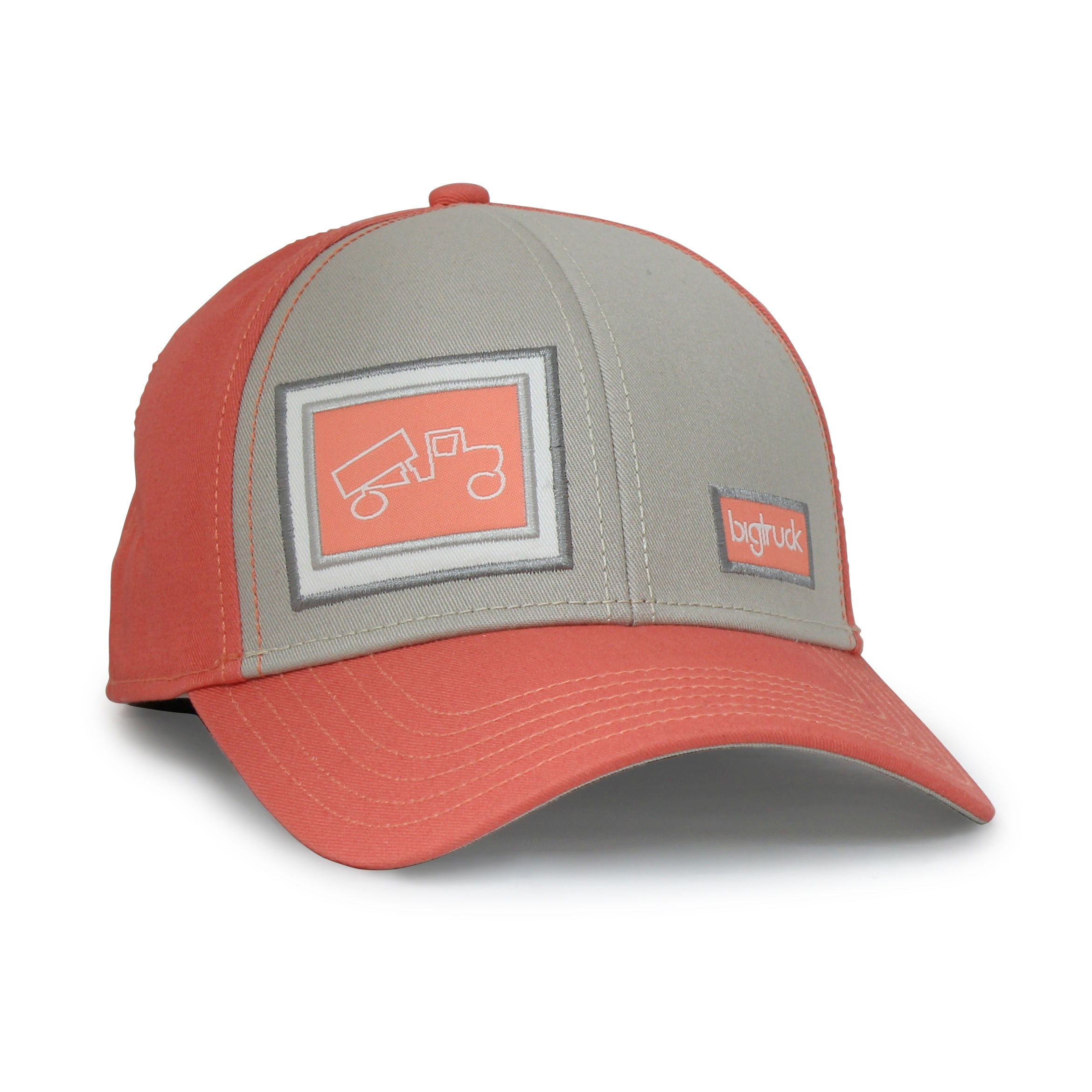 Traditional Gline Salmon-Grey - Front