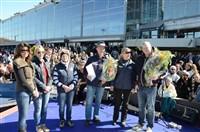Utdelning av priser sker i samband med finalen i Olympiatravet på Åby, bilden är från 2013 när 2012-års vinnare fick sina priser.