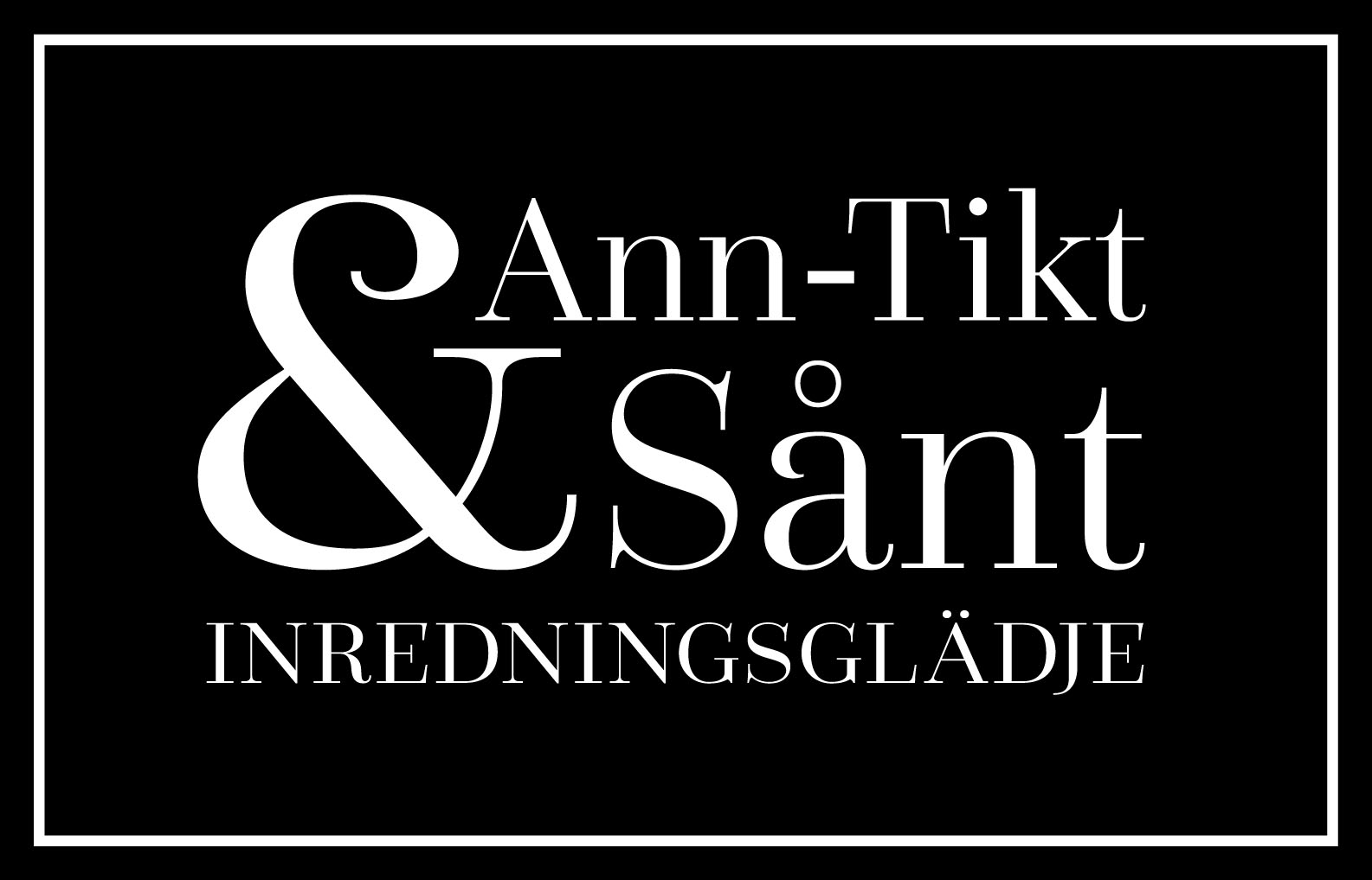 Logotype Ann-Tikt & Sånt