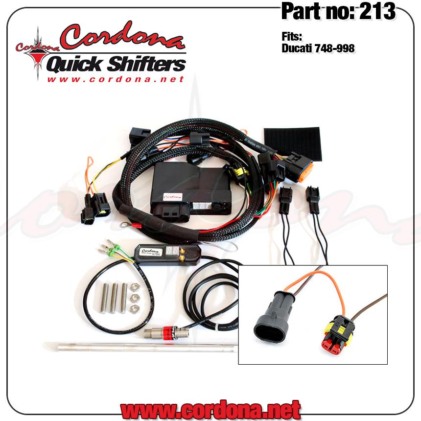 Cordona Quickshifter 213