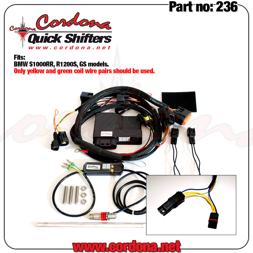 Cordona Quick Shifters 236