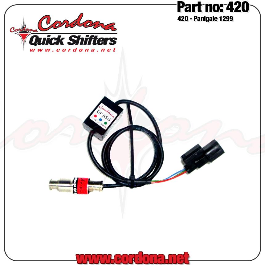 Cordona Quickshifters 420