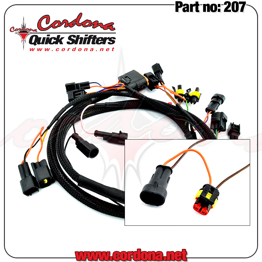 Wiring Harness Technology : Wiring harness only for mv agusta coils cordona