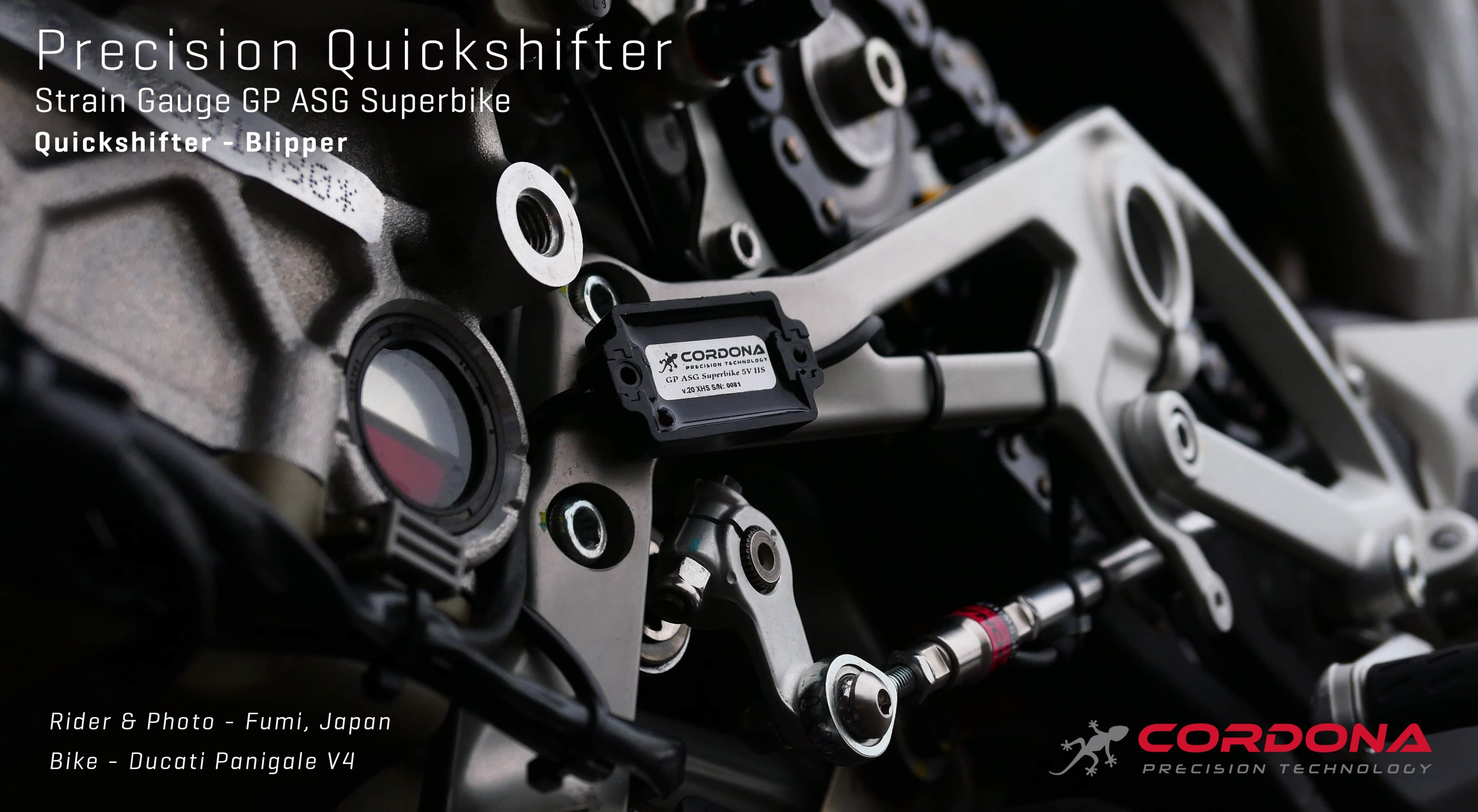 Ducati DQS Replacement Quickshifter - Blipper | Cordona Precision