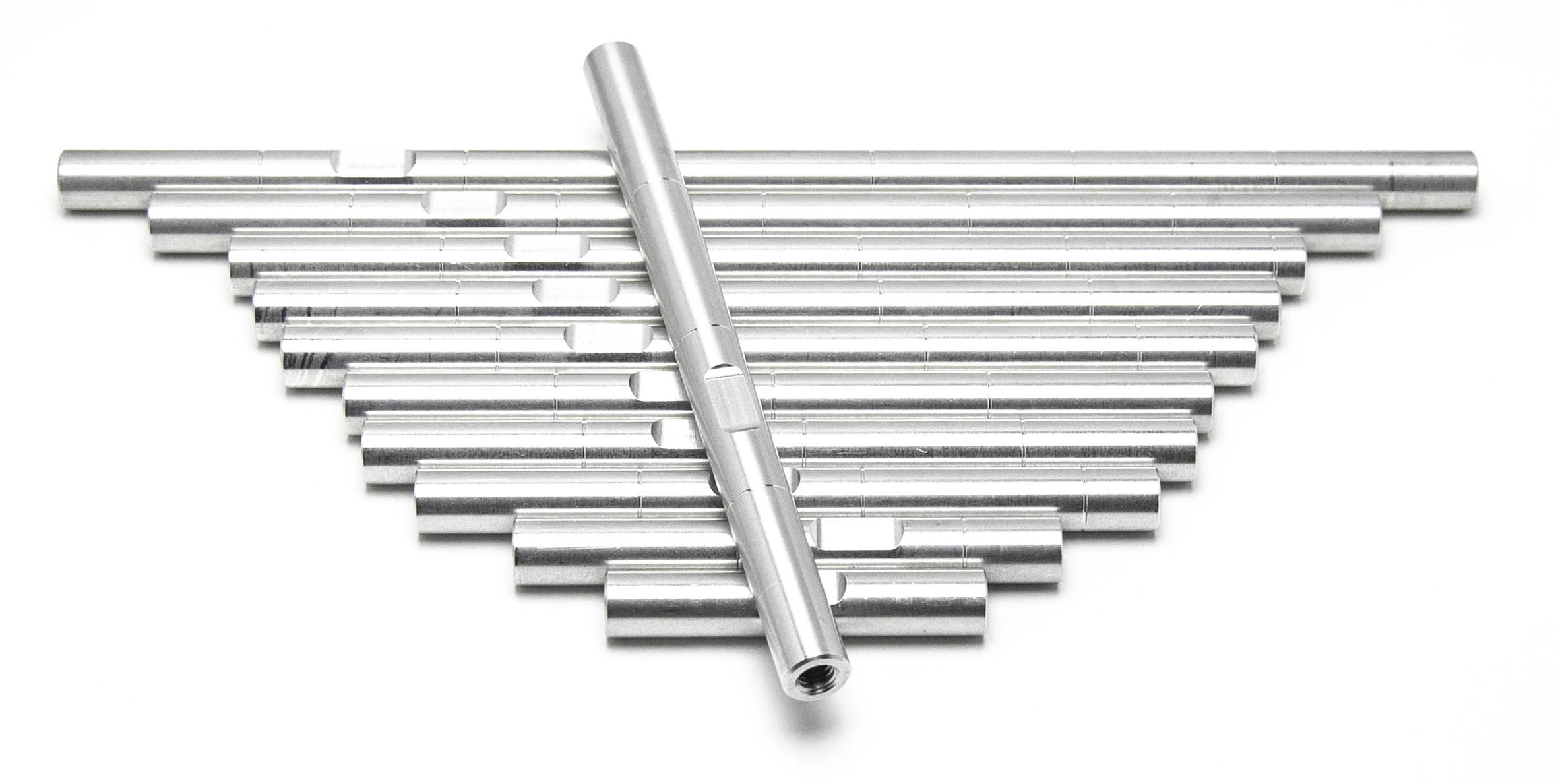 16x Aluminium Rod raw