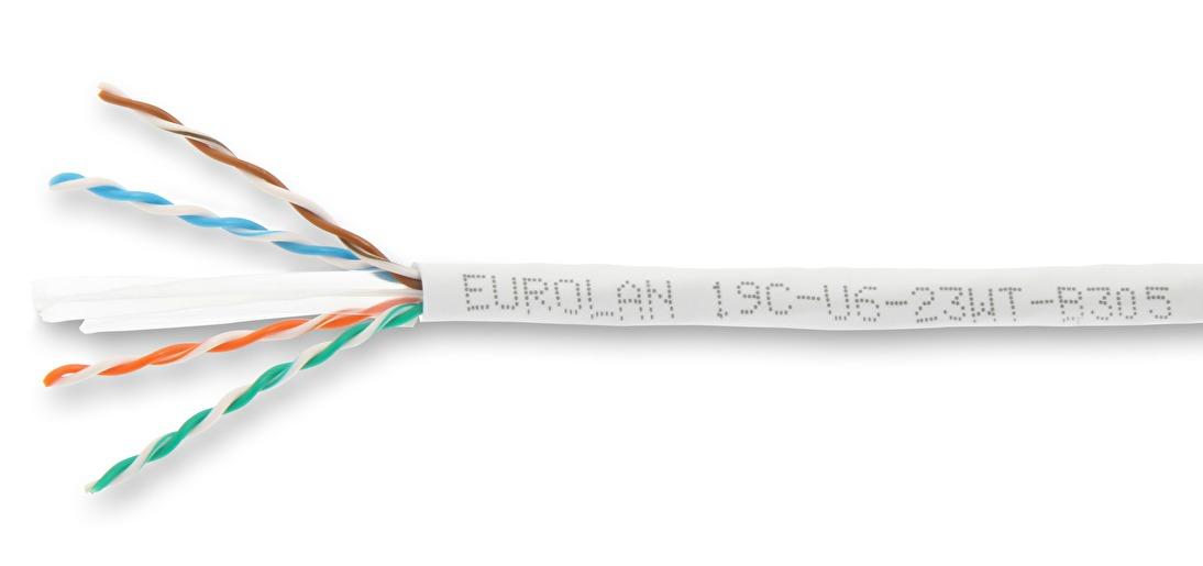 C6 unshielded copper eurolan c6 utp cable publicscrutiny Choice Image