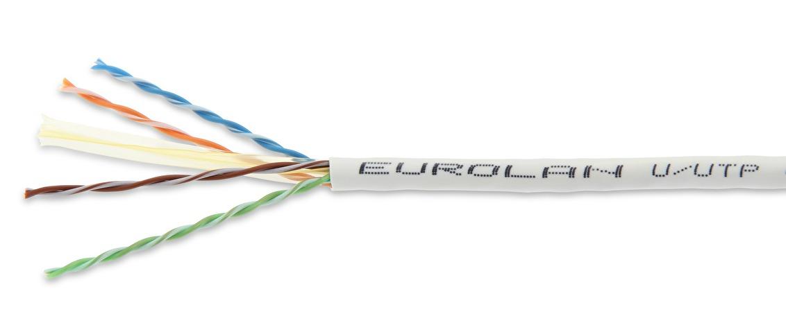 C6 unshielded copper eurolan c6 utp slimline cable publicscrutiny Choice Image