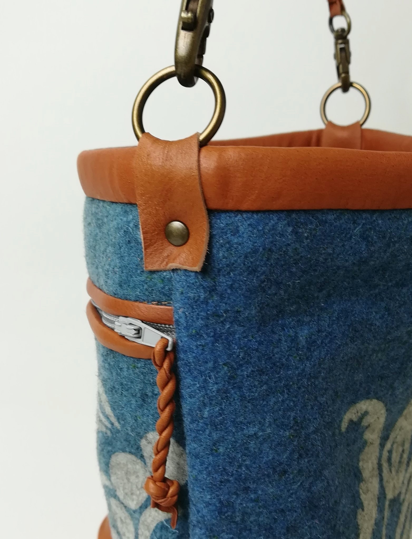 Gustaf väska detalj