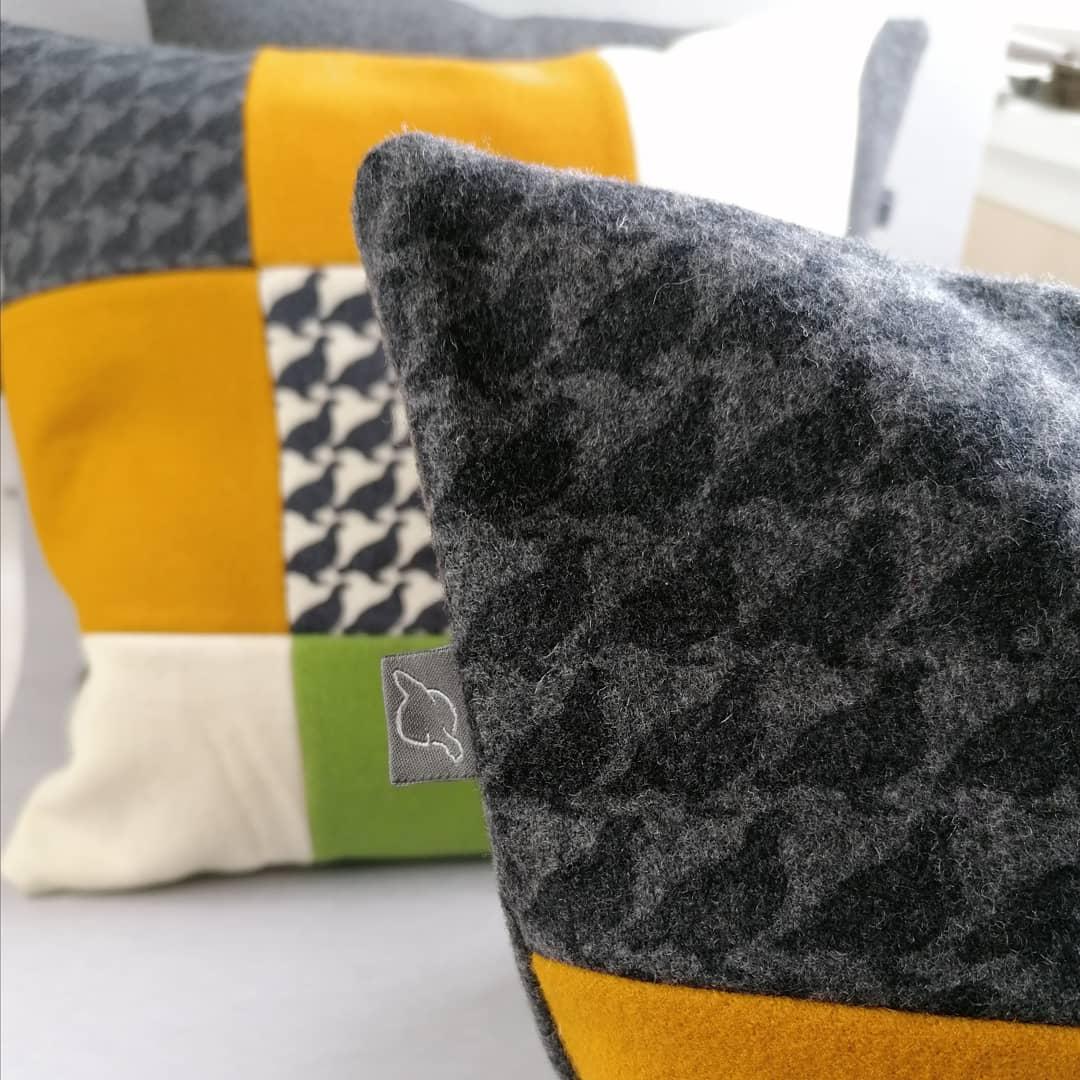 Detalj Kiruna kudde