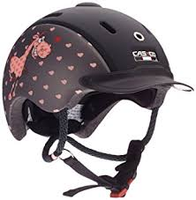 CASCO Nori VG1 -Junior - Svart/Rosa S