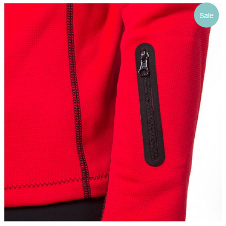 66_North_Vik_Wind_Pro_Jacket_Women_red_detail
