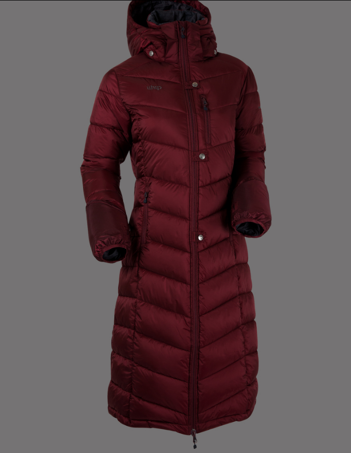 Uhip Coat Nordic Zinfandel Red
