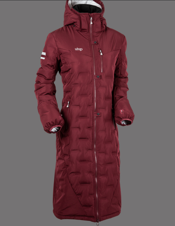 UHIP Coat Ice Zinfandel Red