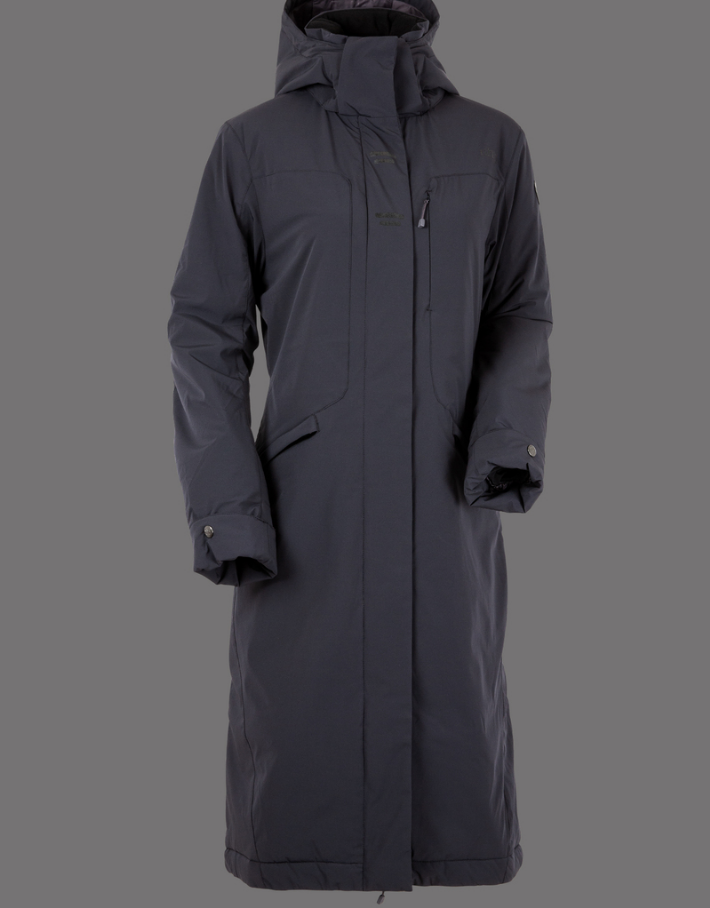UHIP Coat Urban Stretch Blue Graphite Grey