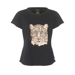 Lyon T-shirt w. tiger - Size XS