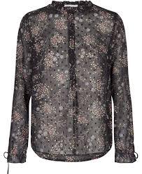 Sybil flower blouse - Size XS