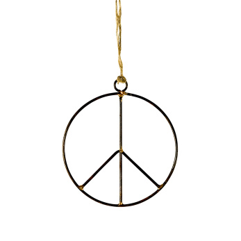 Peacemärke hängande litet - Peace litet
