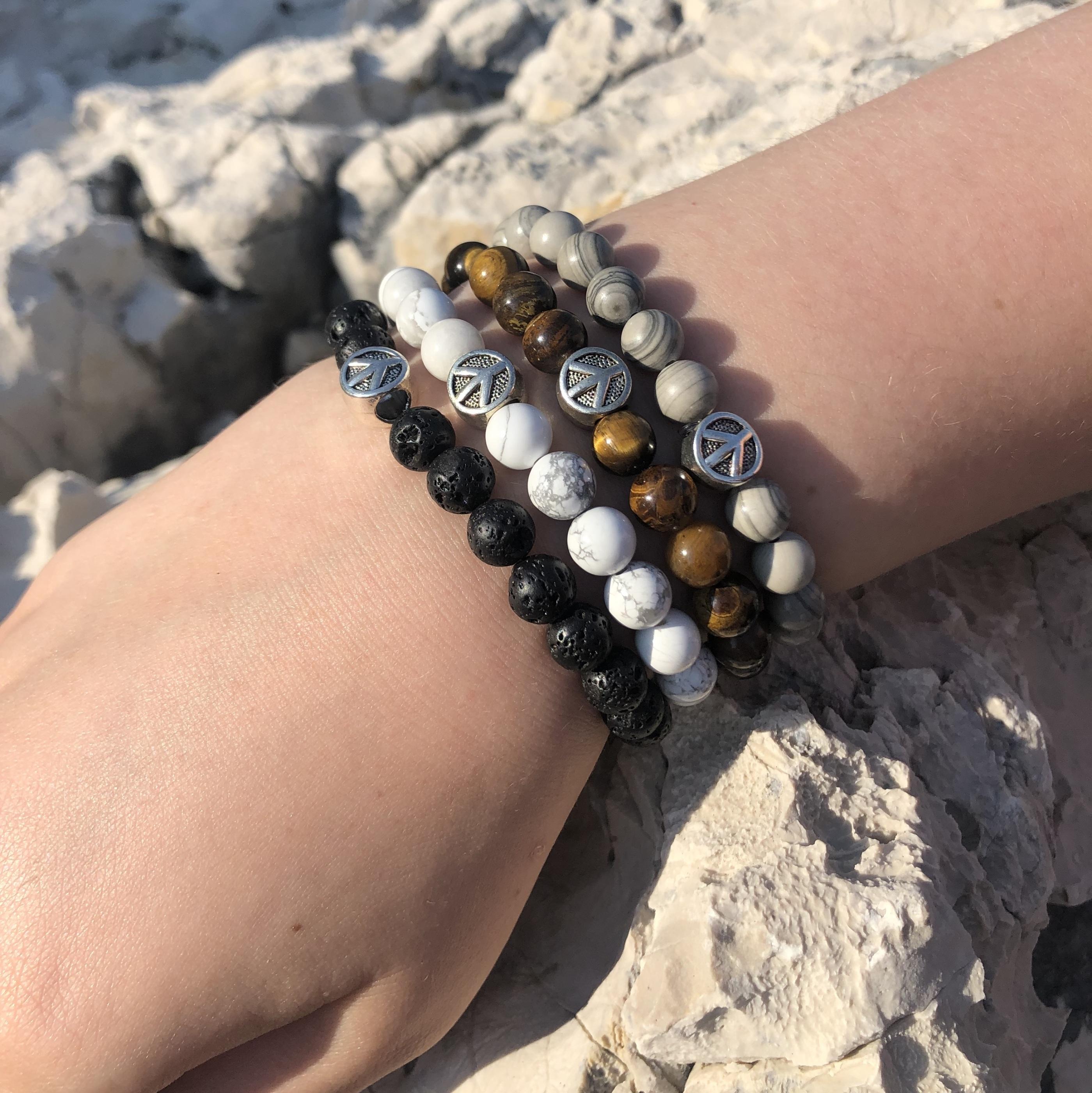 Armband stenar