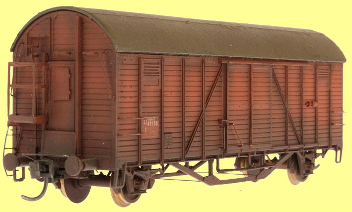 Standard G med halv bromsplattform och dörr