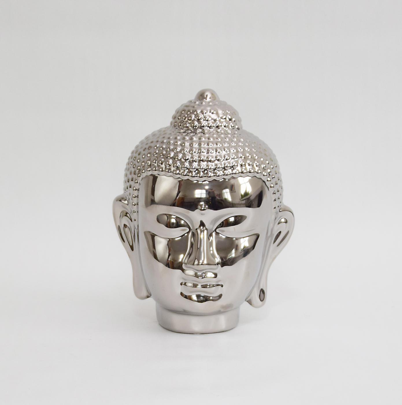 Dekoration BUDDHA Silver IMAGE BY ME MILJÖ 317132 (4)