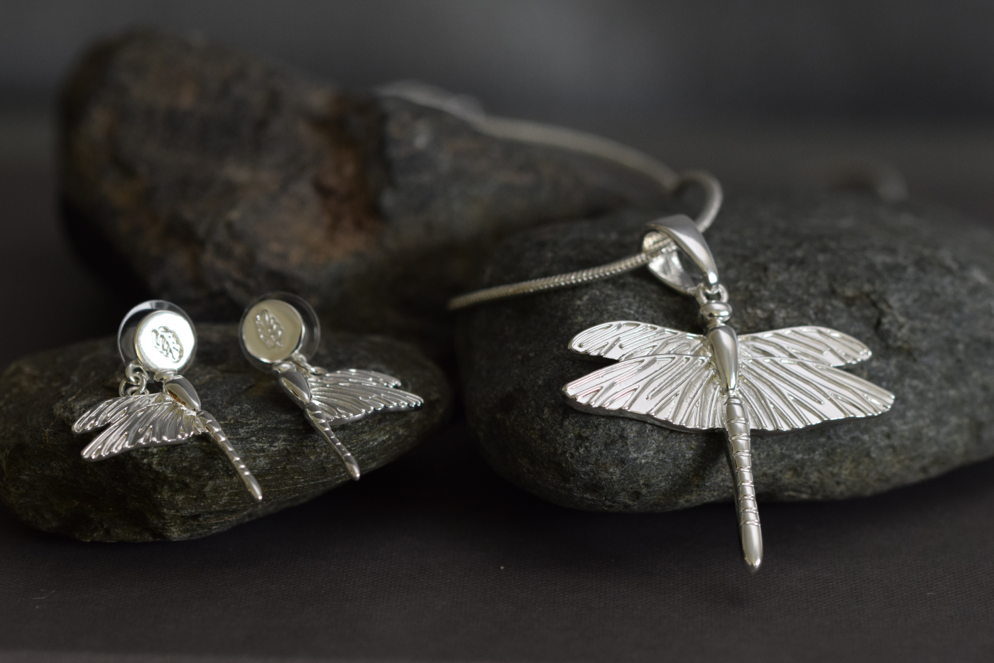 Halsband Dragon Fly  IMAGE BY ME MILJÖ W161101S (2)