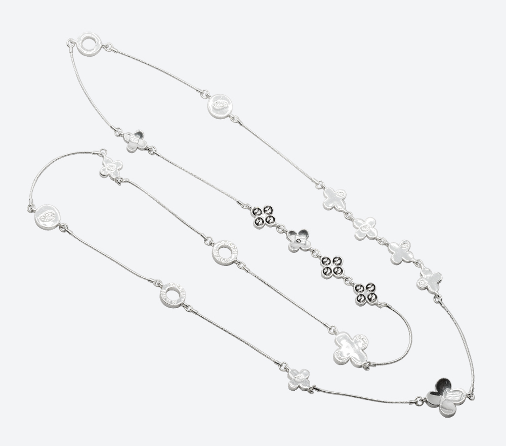 Halsband The Four Clover Iconic IMAGE BY ME MILJÖ W17111S SM (2)
