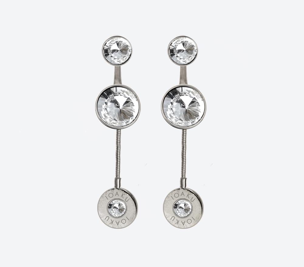 IOAKU-The-Kai-Earrings-silver-white