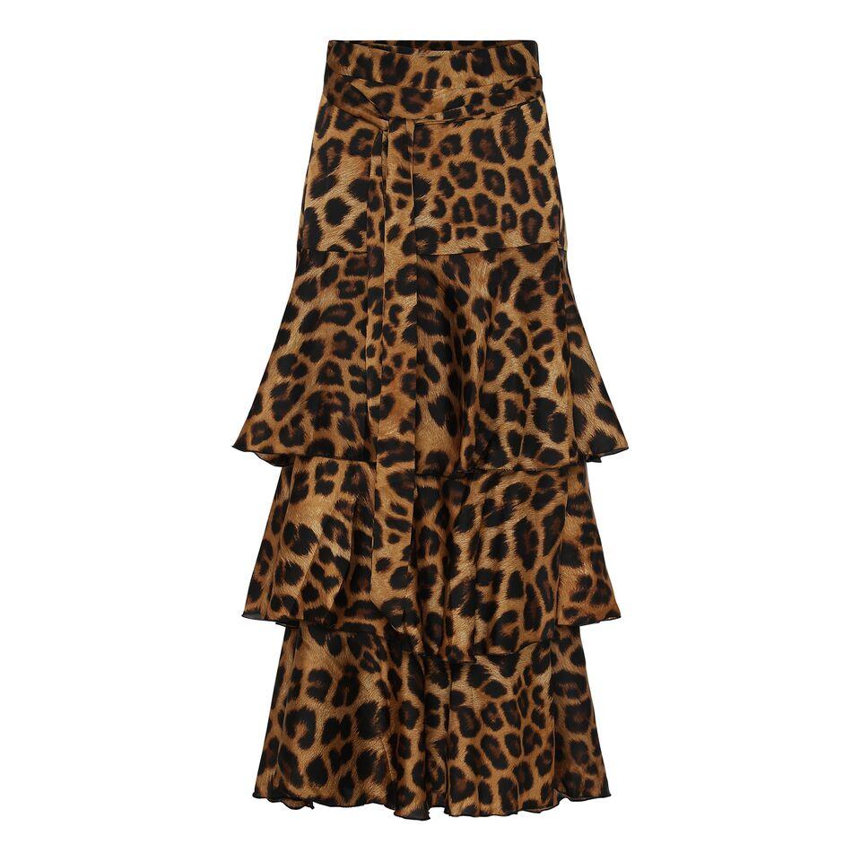 Celine Kjol Leopard KARMAMIA IMAGE BY ME