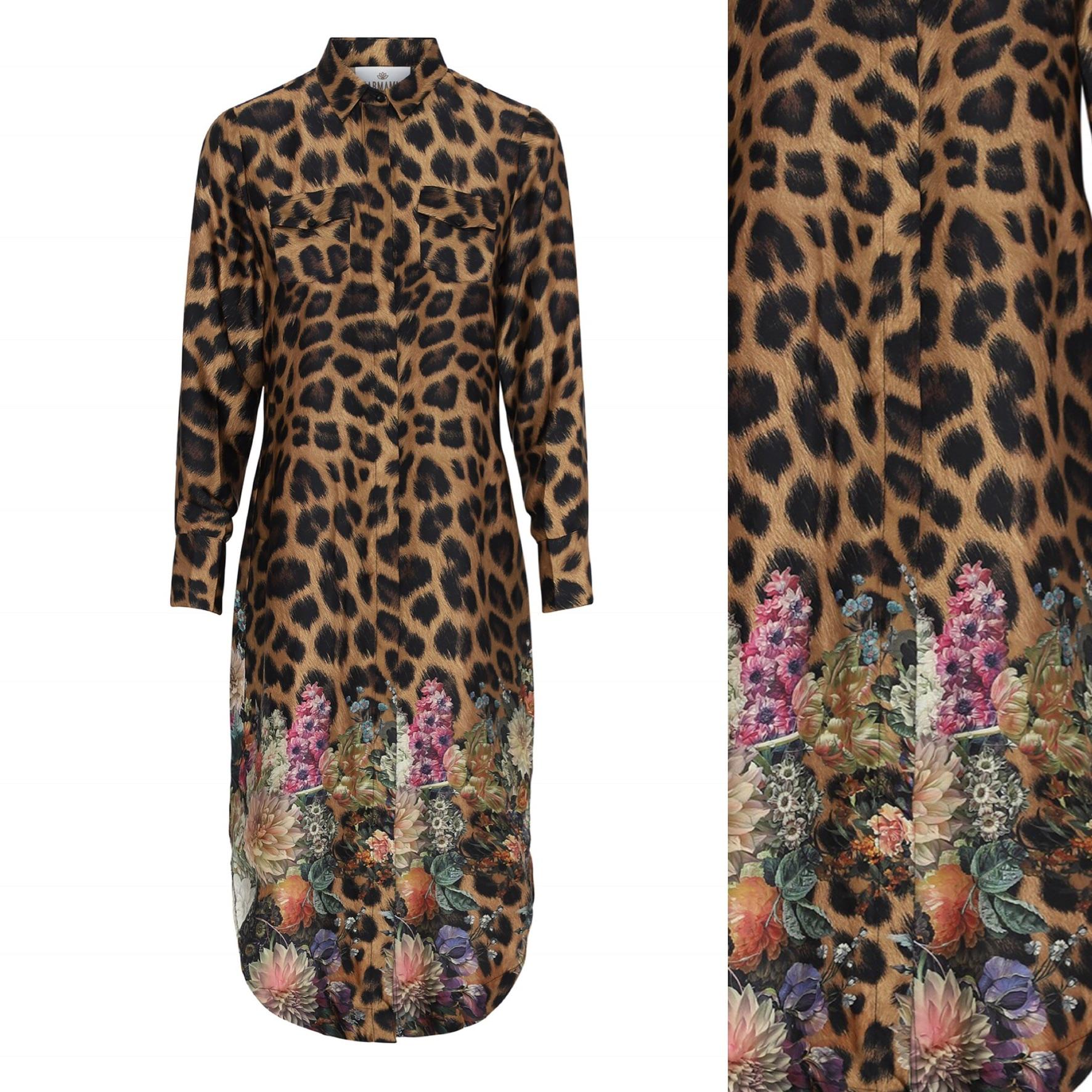 Harper Dress - Flower Leopard IMAGE BY ME KARMAMIA