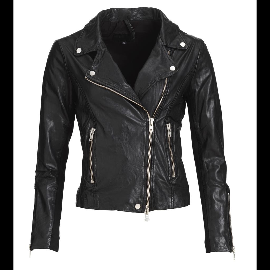 bikery-jacket-lamb-wash-look-black-s-silver IMAGE BY ME