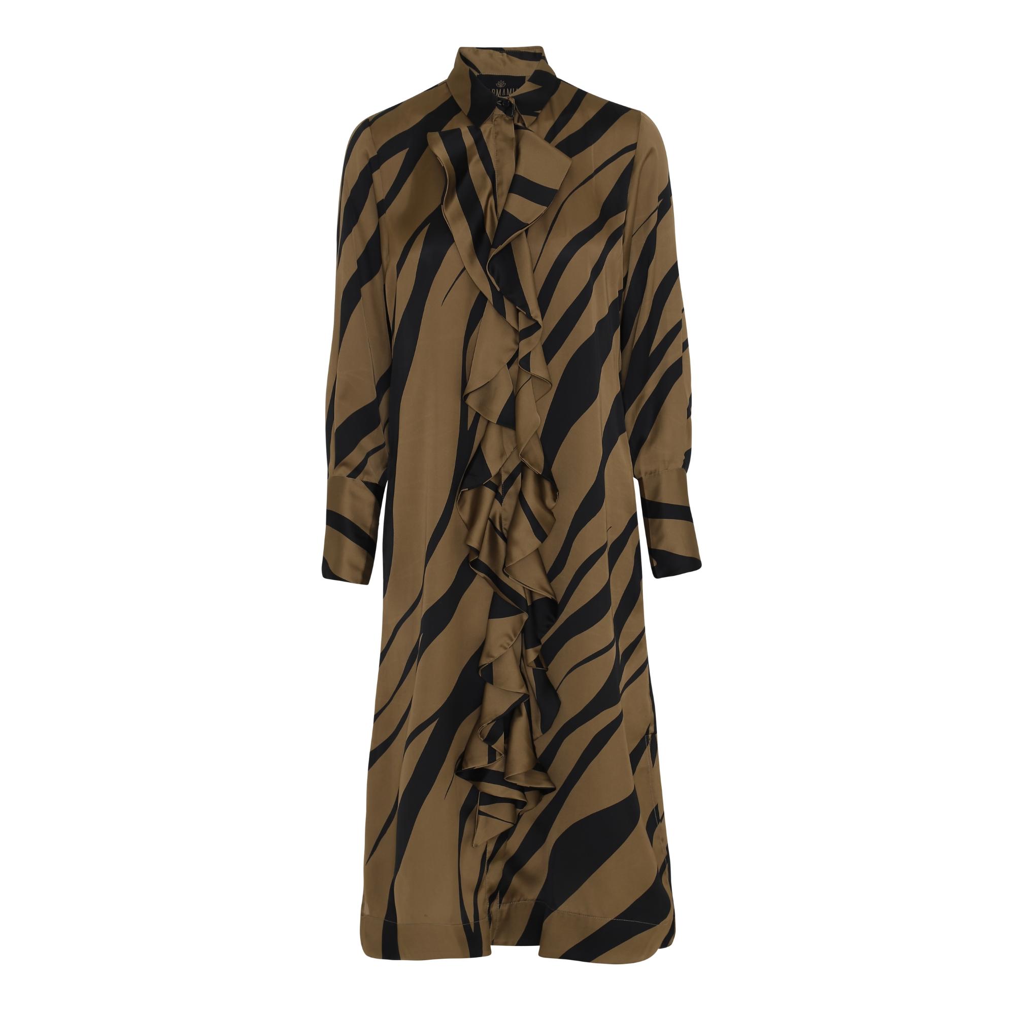 Gold-Tiger-Ruffle-Kimono karmamia IMAGE BY ME