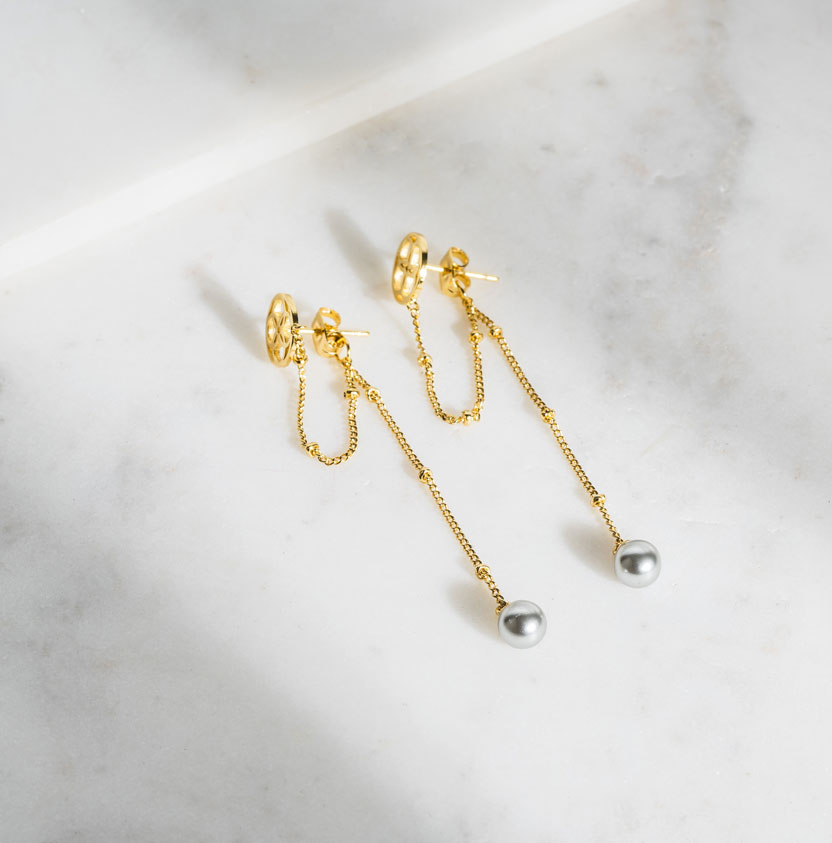 Daily Elegance Synfonili Earring IMAGE BY ME