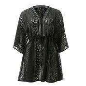 DAILY ELEGANCE Spets Dress Black