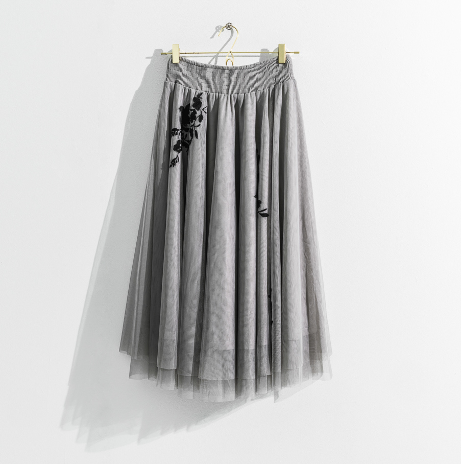 Leilani Skirt Dove Grey Daily Elegance IMAGE BY ME