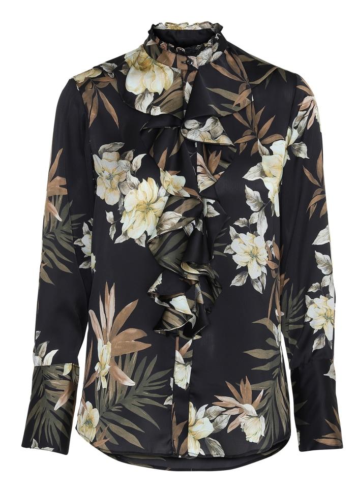 Stella Shirt - Dahlia Flower KARMAMIA IMAGE BY ME
