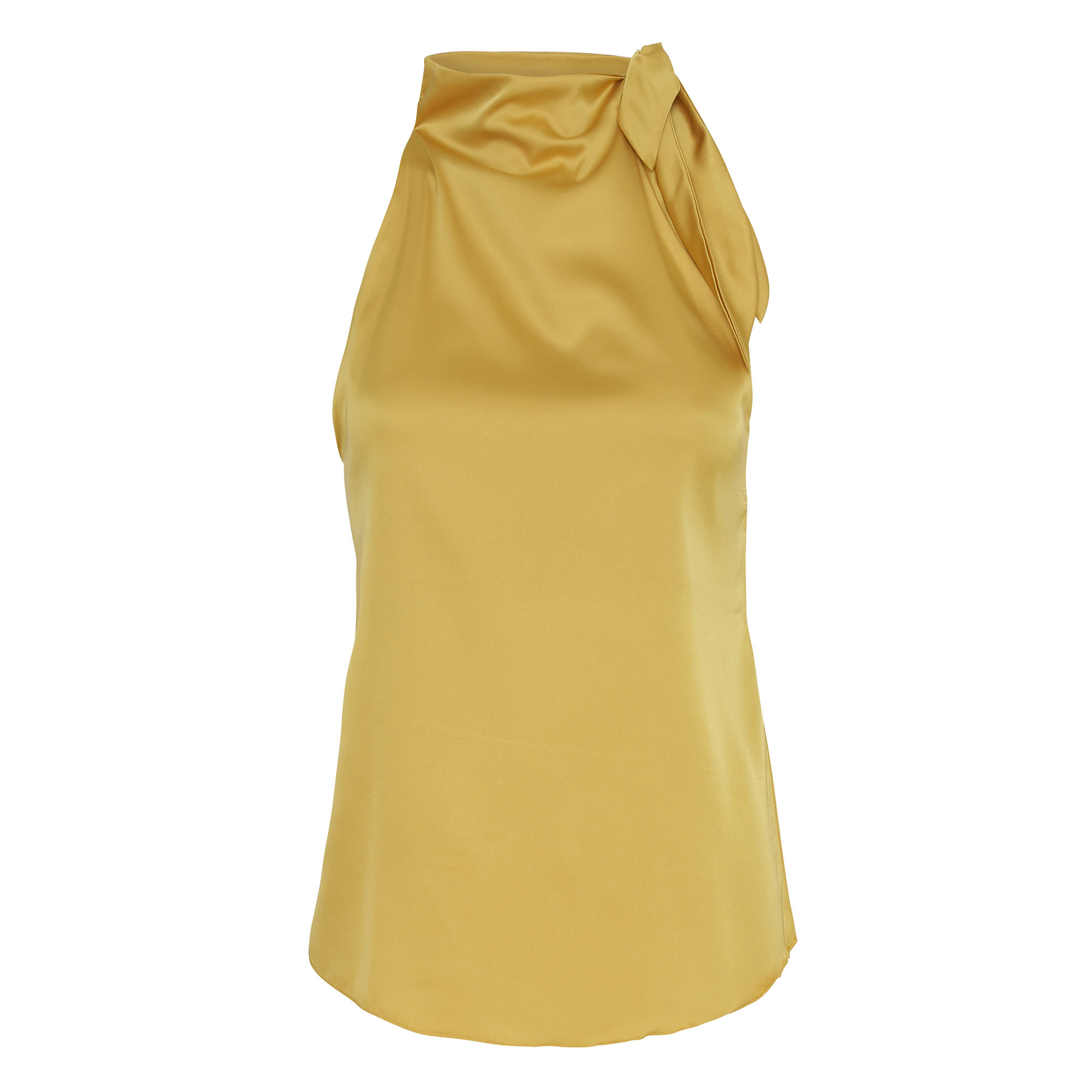 Ribbon-Top-Golden-Yellow KARMAMIA IMAGE  BY ME