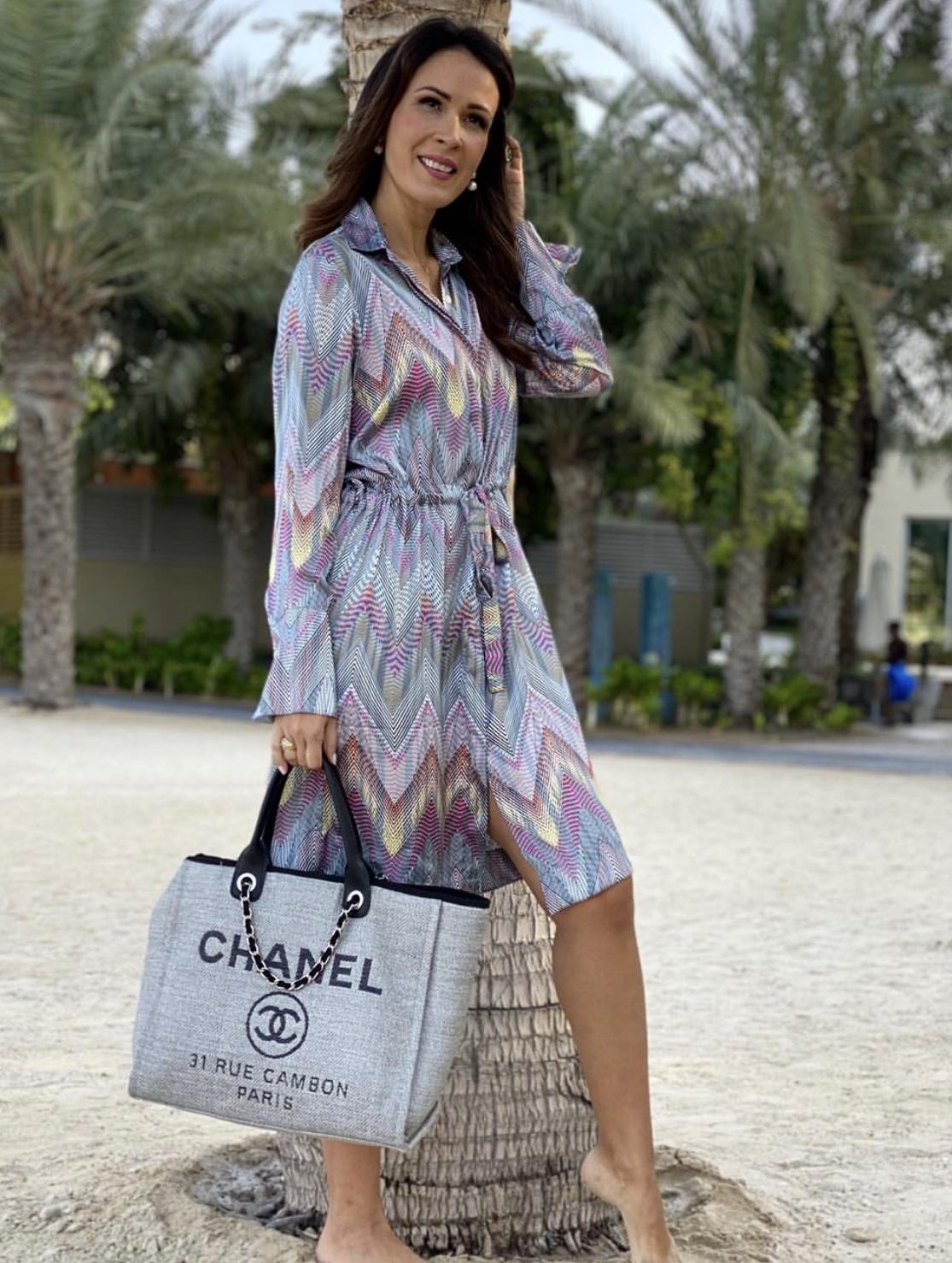 KARMAMIA Nakita Dress Chevron IMAGE BY ME