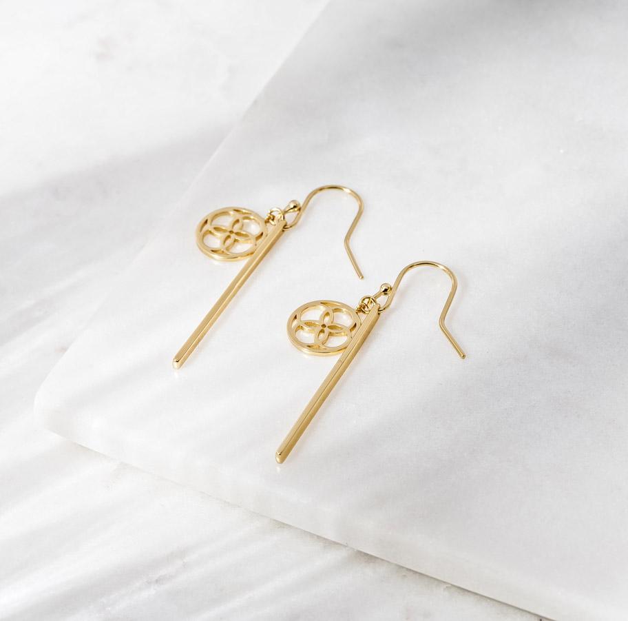 Daily Elegance Santorini Earrings IMAGE BY  ME