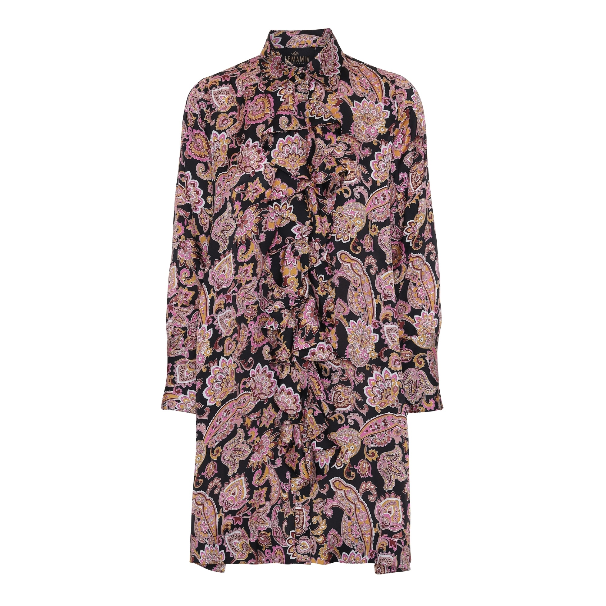 Ruffle-Kimono-Dress-Cabaret IMAGE BY ME