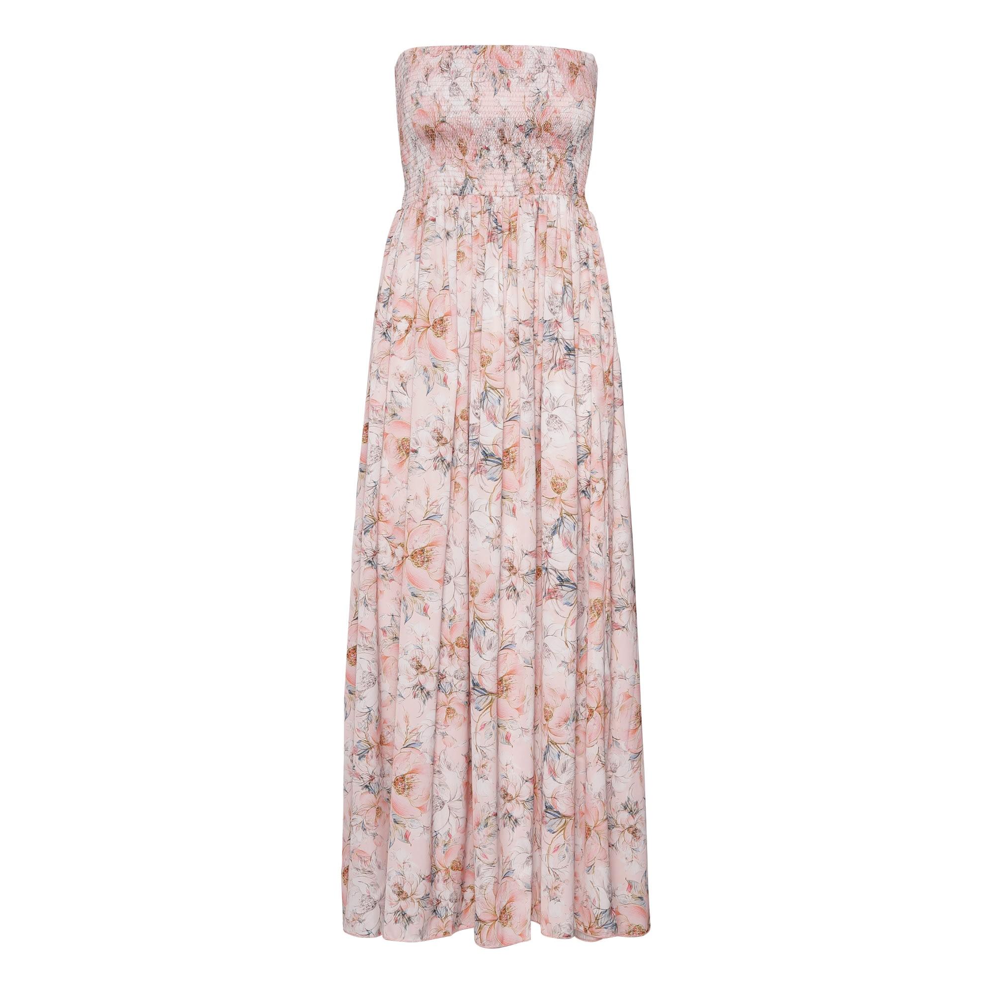 Juliette Dress - Blossom Peach Karmamia IMAGE BY ME