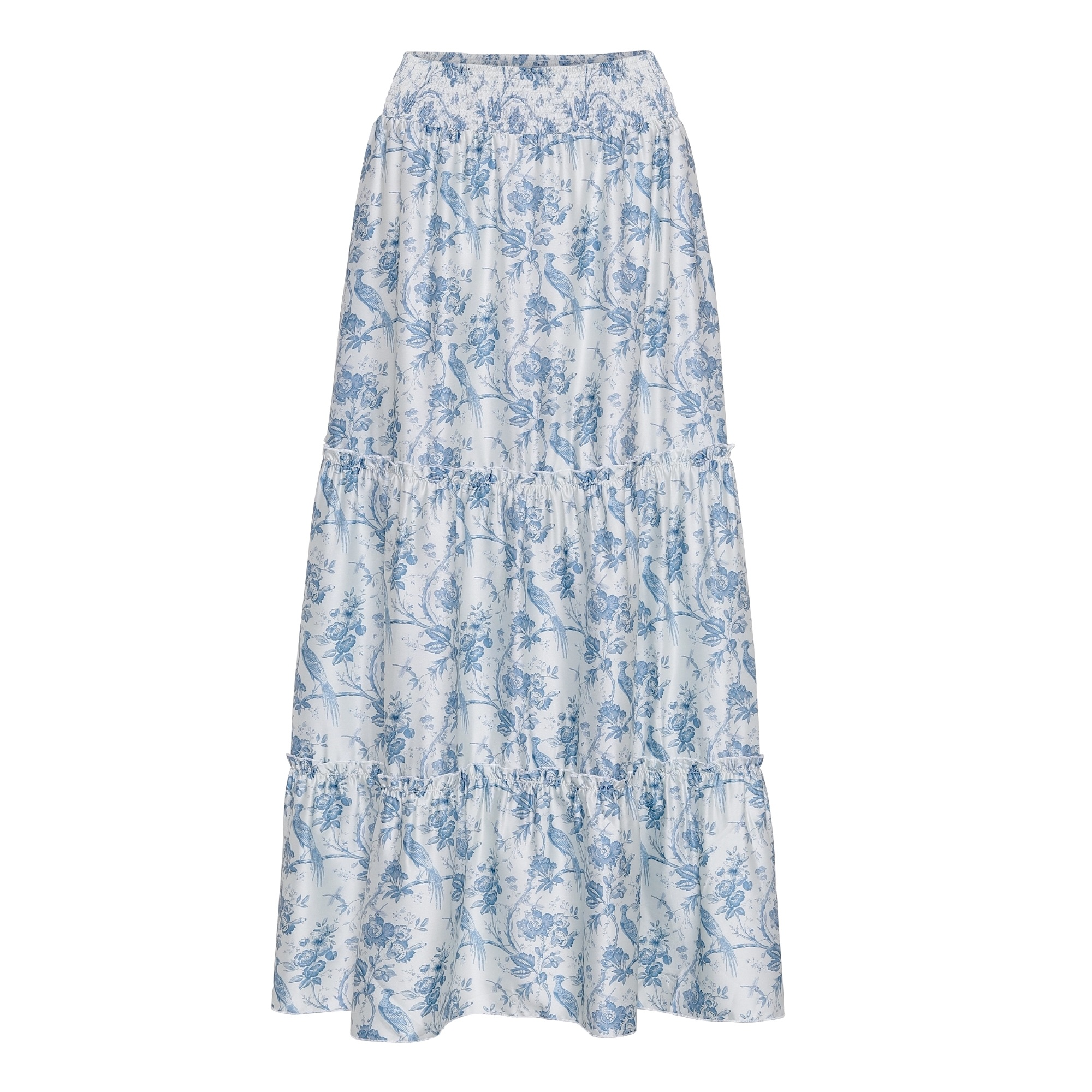 Ruffle-Boheme-Skirt-Provence KARMAMIA IMAGE BY ME