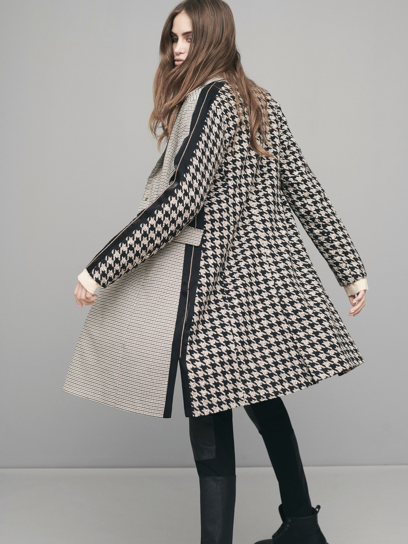 NÜ DENMARK EVI CHECKERED JACKET BLACK MIX IMAGE BY ME