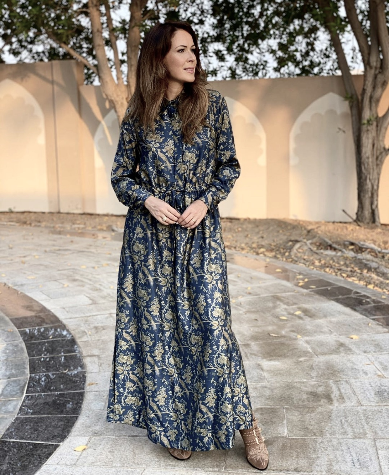 KARMAMIA Nakita Maxi Dress - Indigo Provence IMAGE BY ME