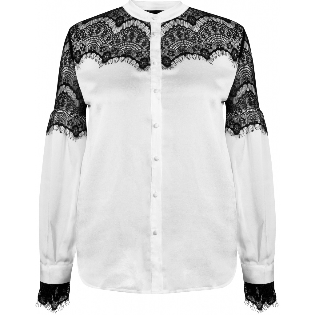 NÜ DENMARK Brae Shirt lace IMAGE BY ME