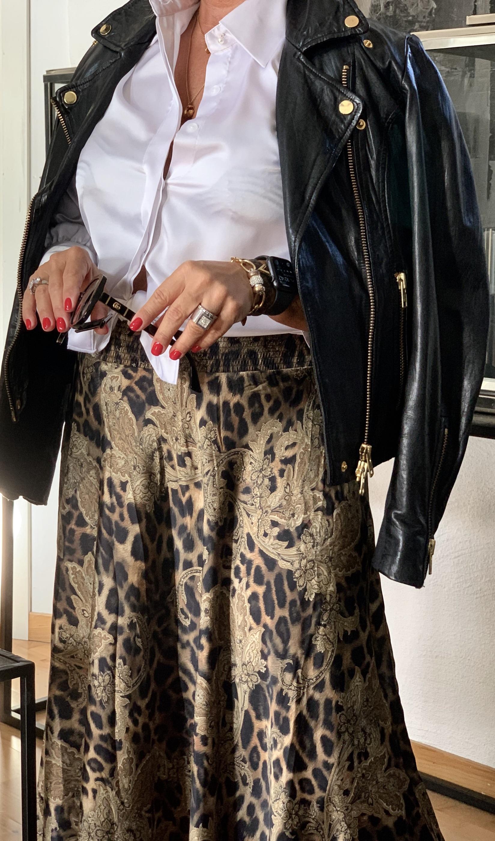 KARMAMIA Savannah Skirt - Leo Paisley IMAGE BY ME